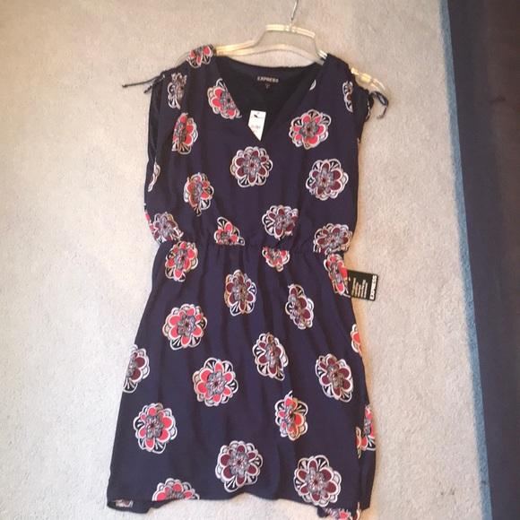 Express Dresses & Skirts - Floral dress size M